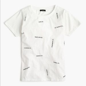 J.Crew Streets of NYC T-Shirt NEW SMALL